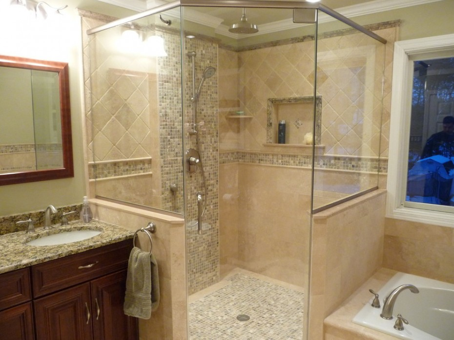Houzz grey bathroom